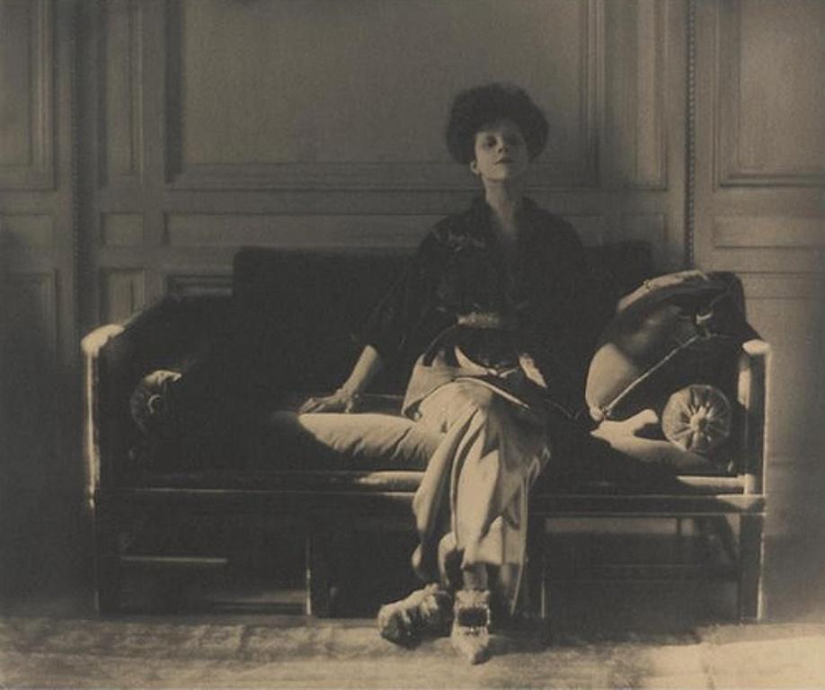 Baron Adolf de Meyer. Rita Lydig 1913. Via wiki