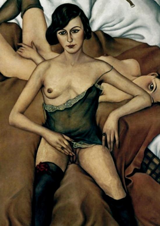 Christian Schad. Deux filles 1928