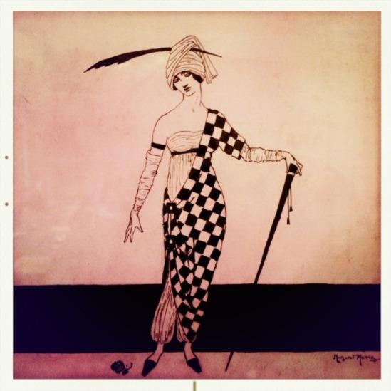 Dance Costume by Margaret Morris. Via fergussongallery