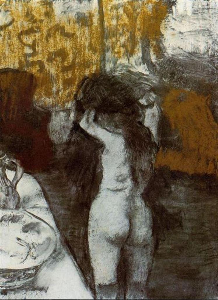 Edgar Degas. Après le bain 1876-1877