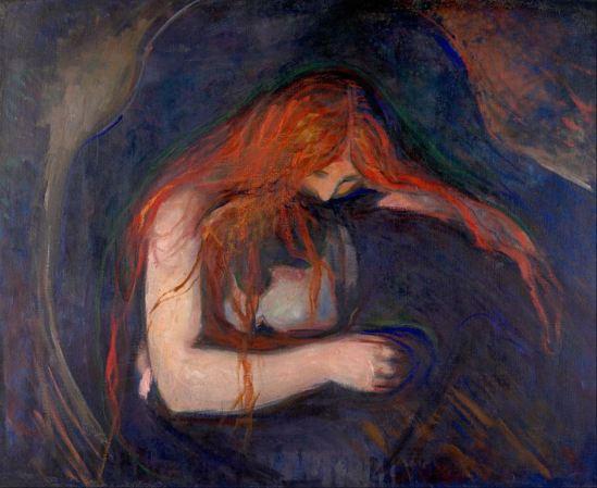Edvard Munch. Vampire 1895