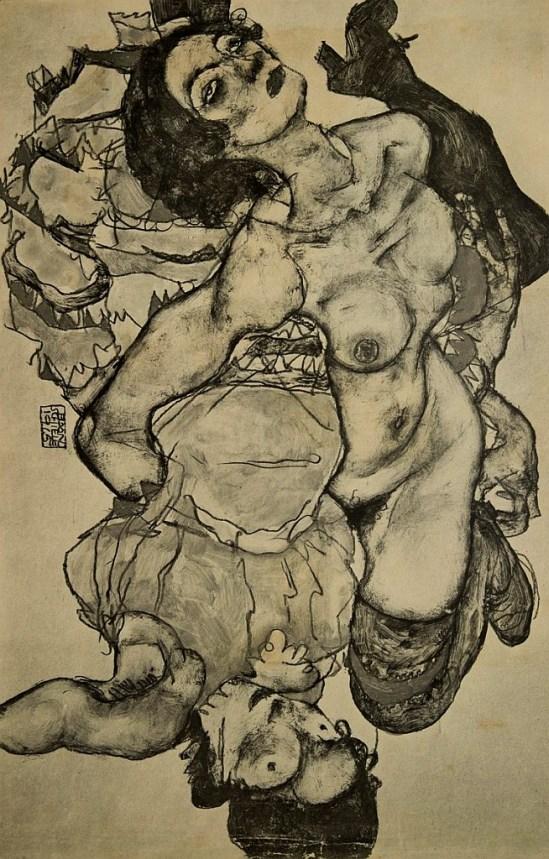 Egon Schiele 1915