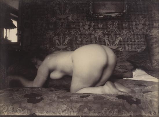Eugène Atget. Femme nue 1925. Via lefigaro