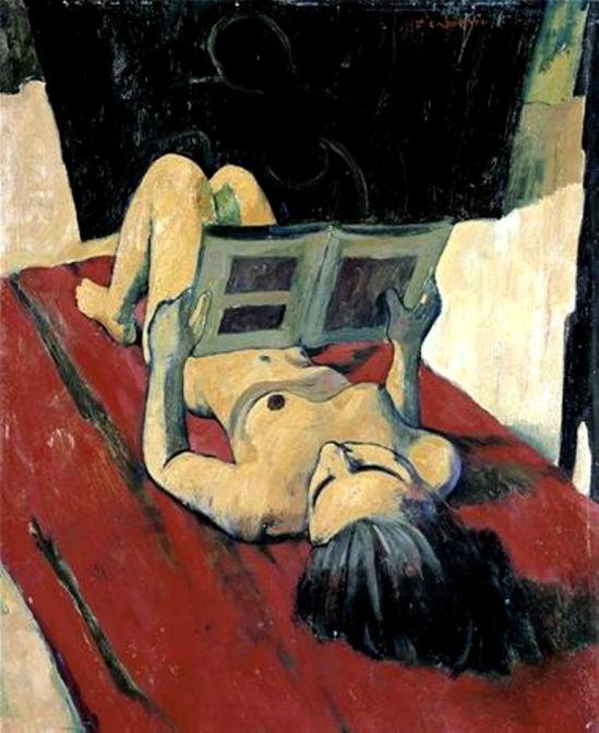 Felice Casaroti. Nudo distese che legge 1943