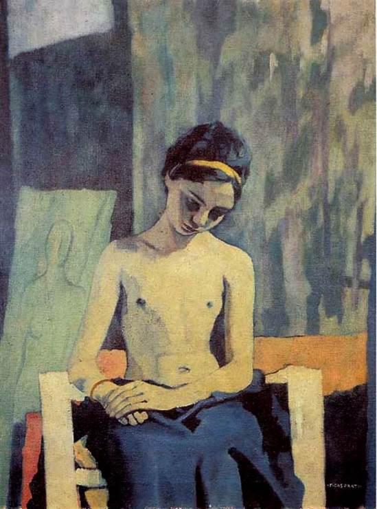 Felice Casaroti. Ragazza di Pavarolo 1938