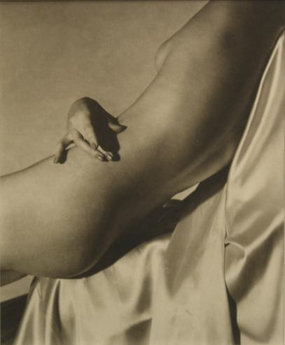 Horst P. Horst. Lisa on silk 1940. Via jacksonfineart