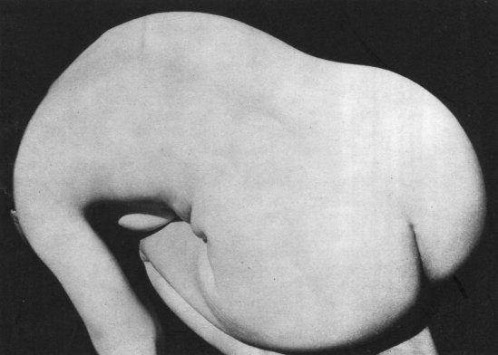 Imogen Cunningham. Nude 1936. Via liveauctioneers