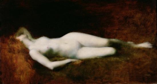 Jean-Jacques Henner. Dormeuse 1893