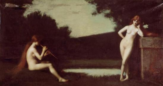 Jean-Jacques Henner. Eglogue