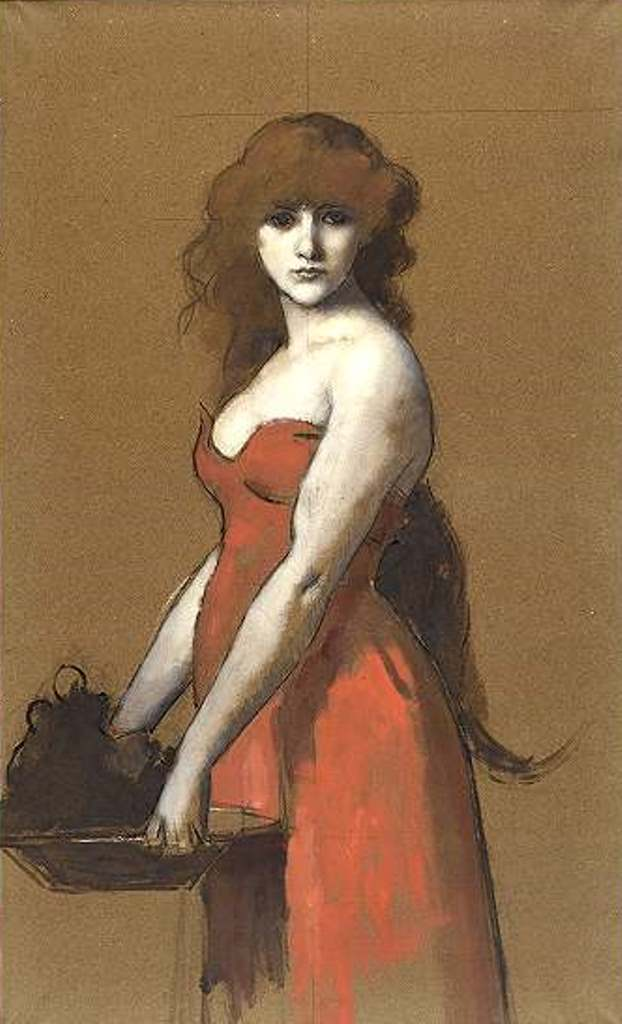 Jean-Jacques Henner. Hérodiade vers 1880-1890