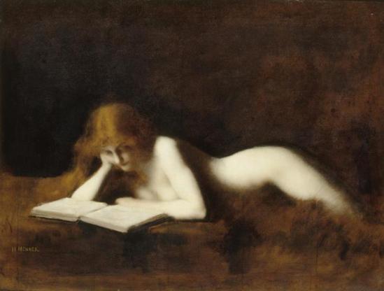Jean-Jacques Henner. La Liseuse vers 1880-1890