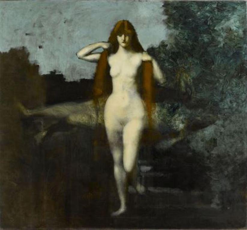 Jean-Jacques Henner. La Vérité entre 1898 et 1902