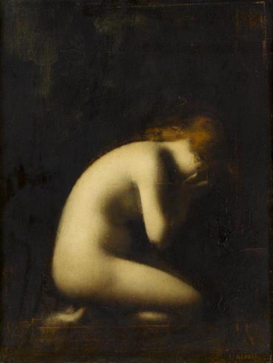 Jean-Jacques Henner. Nymphe qui pleure après 1884