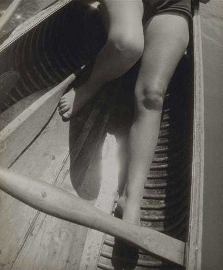 Jean Moral. Canöe 1929. Via artnet