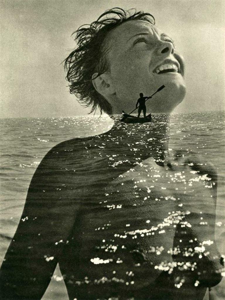Jean Moral. Nude ans seascape 1930-1933. Via artnet