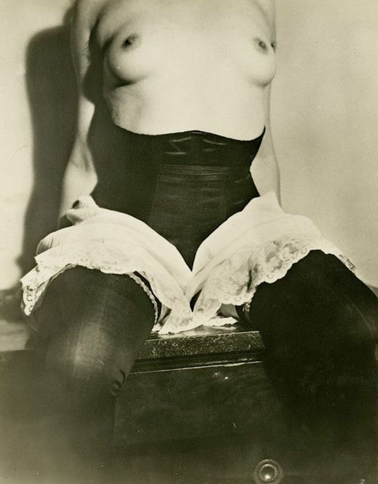 Jean Moral. Publicité pour Diana Slip 1930