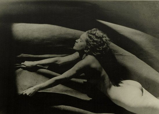 Josef Vetrovsky2. Female nude 1929, printed 1990s. Via liveauctioneers