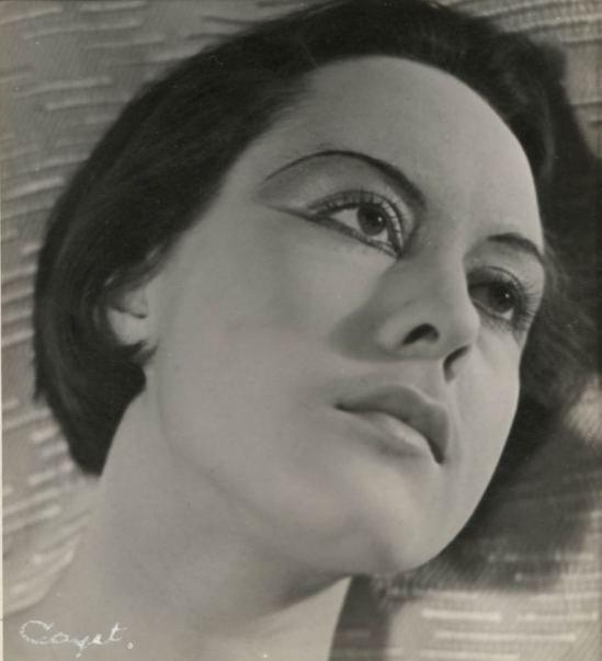 Joseph Cayet. Portrait 1938. Via anamorfose.be