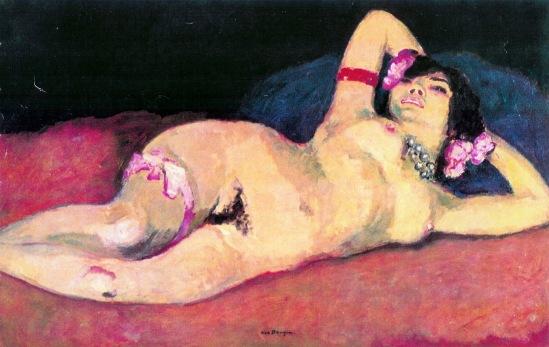 Kees van Dongen. Anita Payen 1907