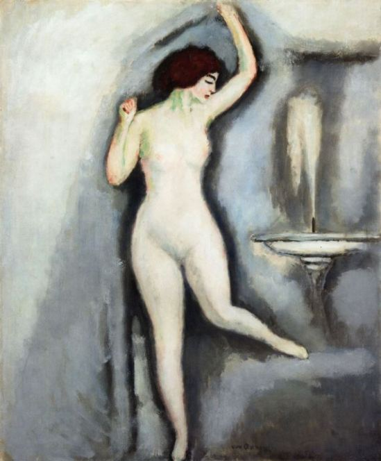 Kees van Dongen. The attractive nude 1909
