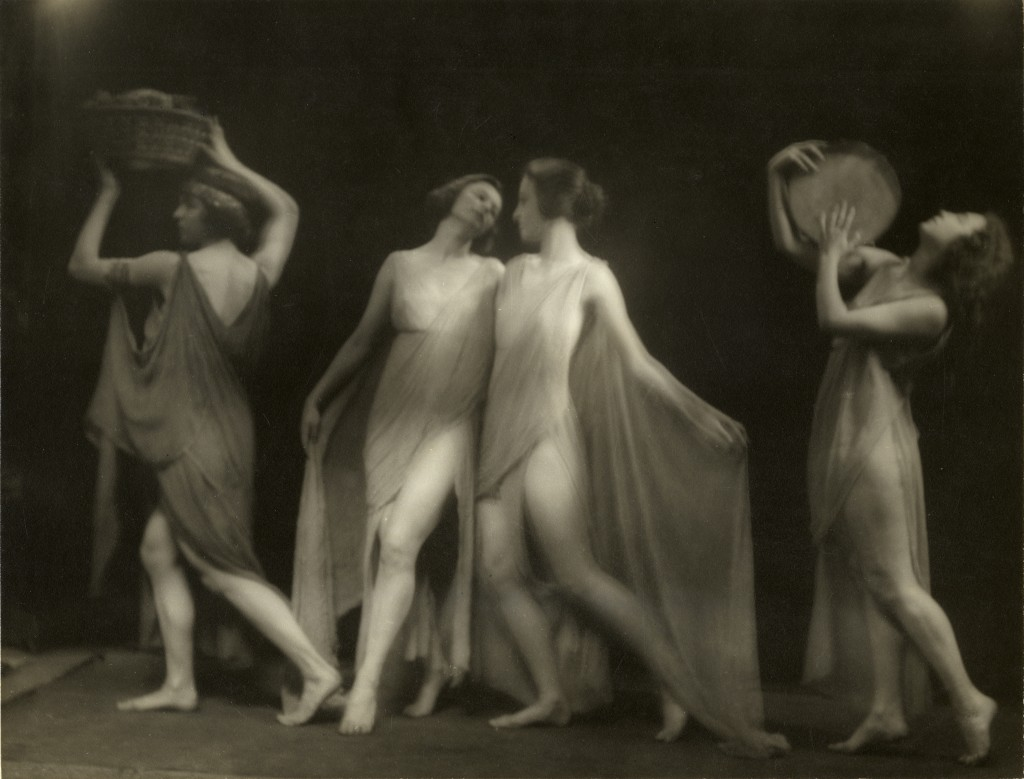 Marion Morgan Dancers 1919. Arnold Genthe Collection. Via nyhistory.org