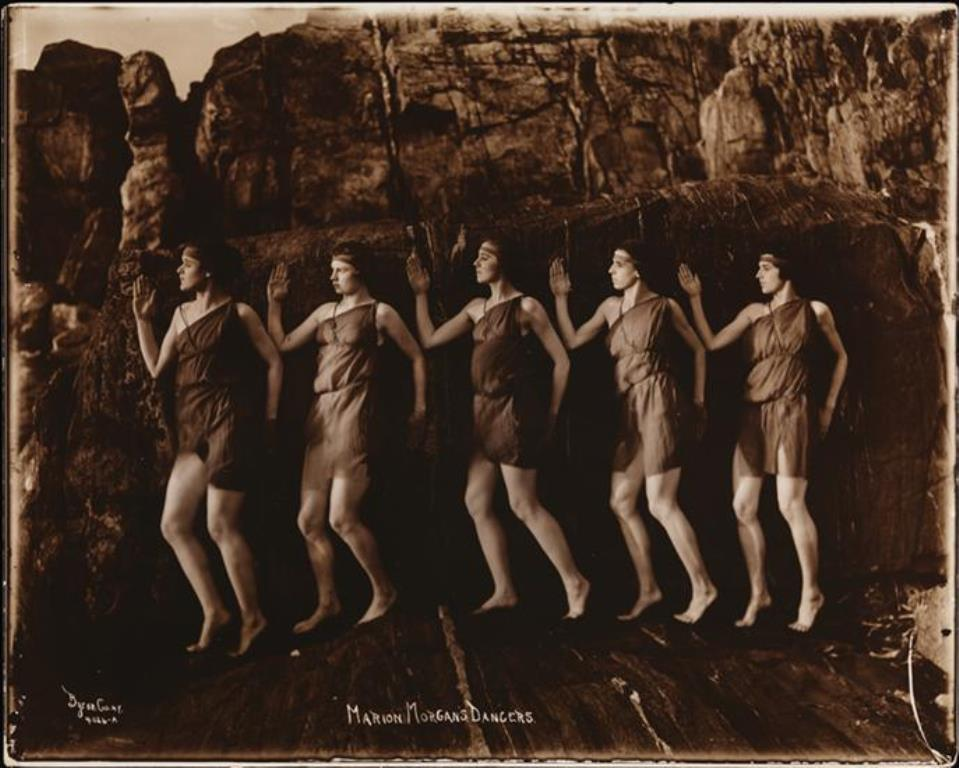 Marion Morgan Dancers2. 1920. Via mcny.org