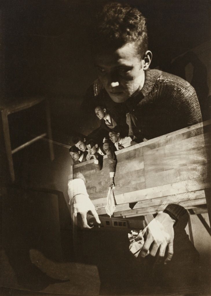 Maurice Tabard. Photomontage 1928. Via thesip.org