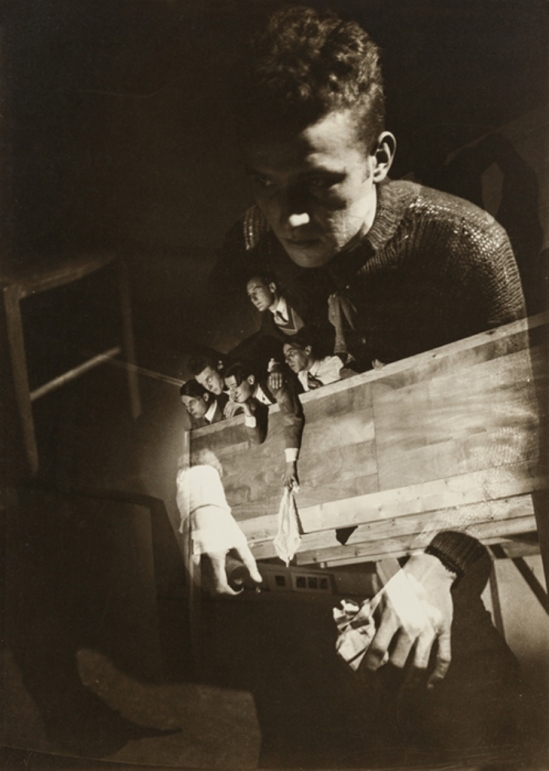 Maurice Tabard. Photomontage 1928. Via thesip.org