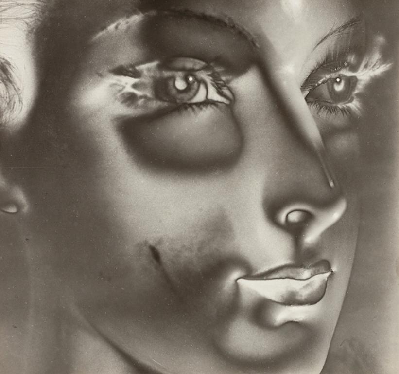 Maurice Tabard. Solarization No. 1 (Solarized Portrait) 1932. Via thesip.org