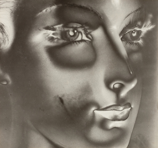 Maurice Tabard. Solarization No. 1 (Solarized Portrait) 1932. Via thesip.org