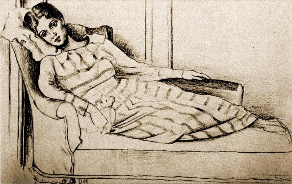 Pablo Picasso. Olga Kokhlova 1917