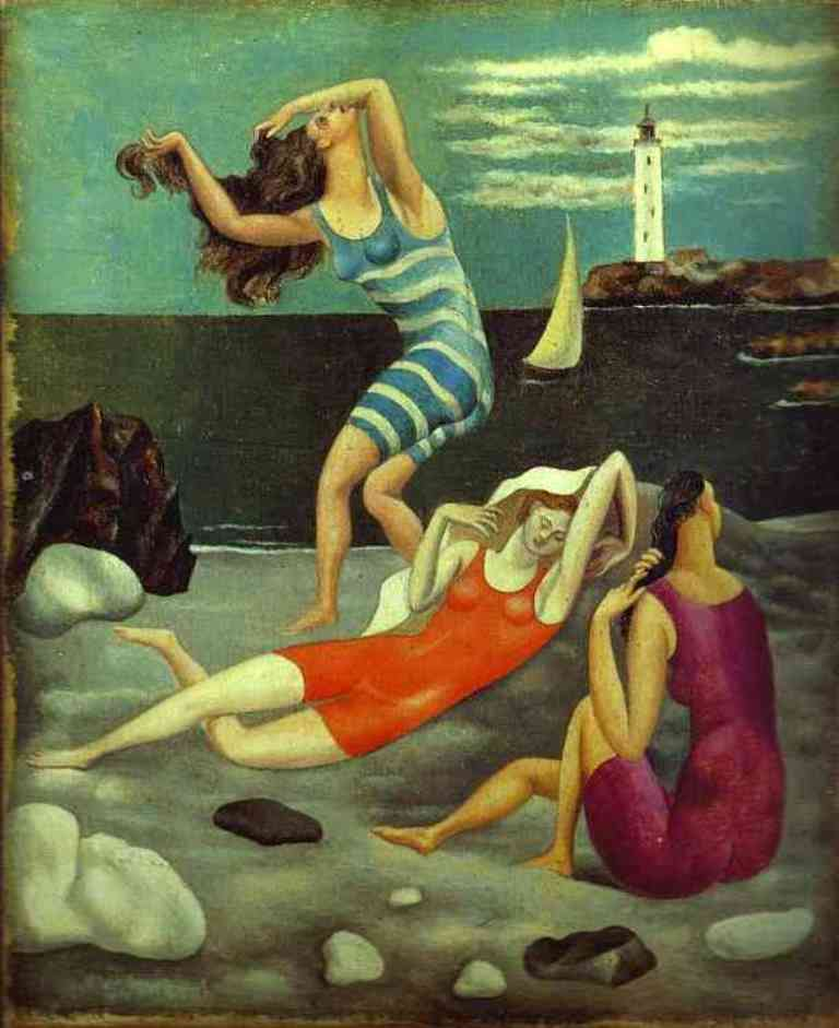 Pablo Picasso. The bathers 1918