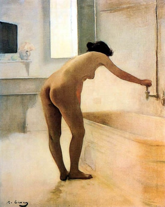 Ramon Casas i Carbó. Au bain 1895