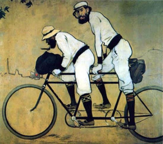 Ramon Casas i Carbó. Le tandem 1898