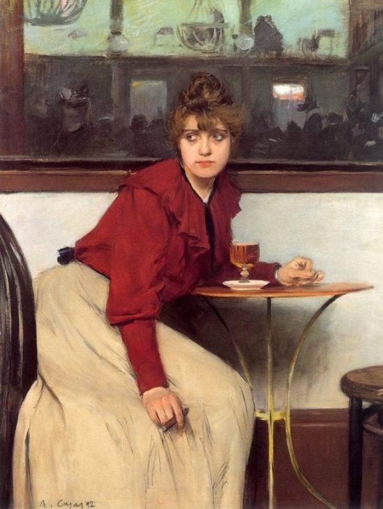 Ramon Casas i Carbó. Madeleine 1892
