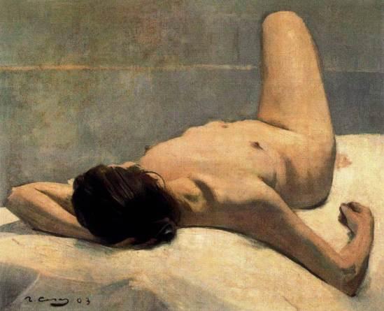 Ramon Casas i Carbó. Nude 1903