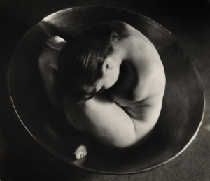 Ruth Bernhard. Embryo 1934. Via artnet
