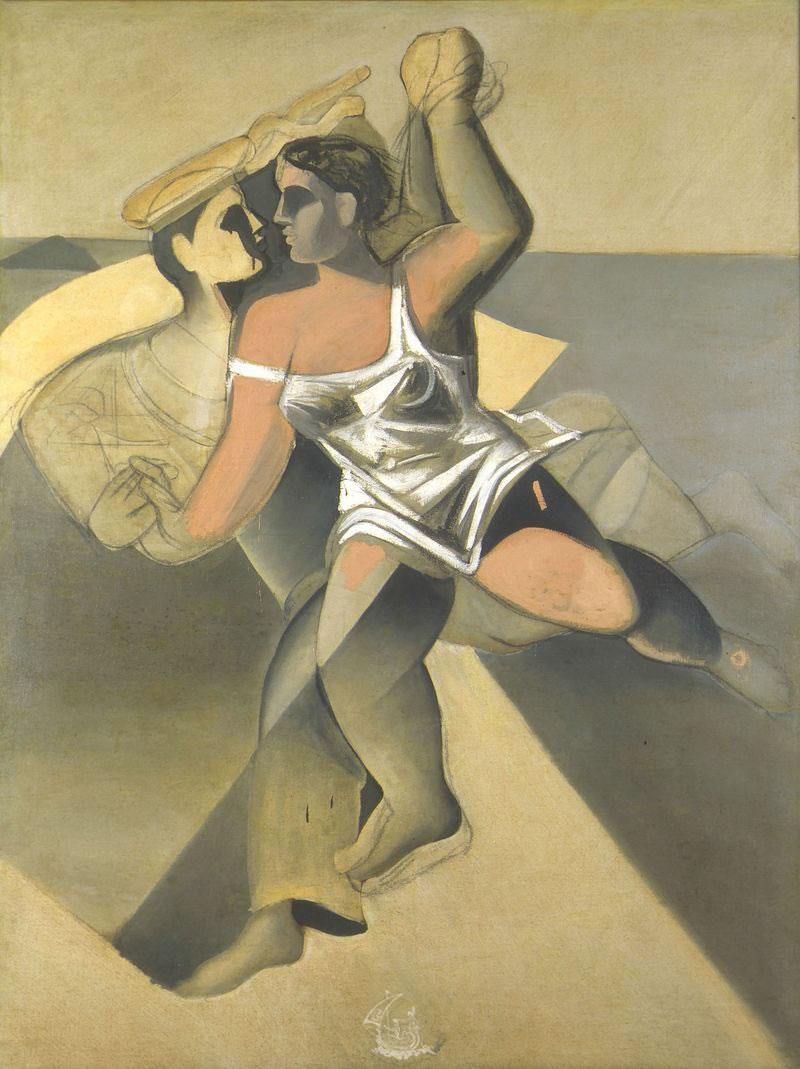 Salvador Dali. Vénus et marin 1925