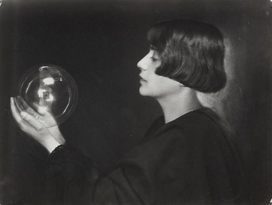 Trude Fleischmann (1895-1990). Study with glass sphere, Vienna. Via invaluable