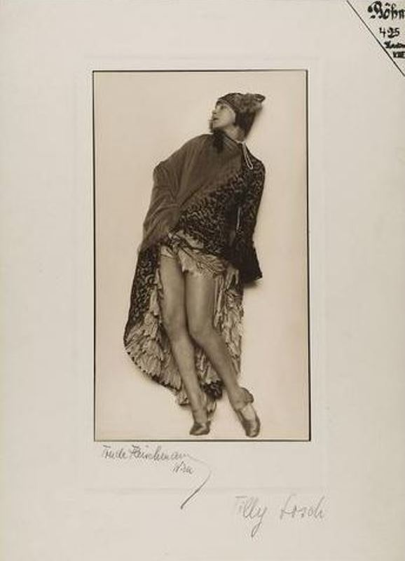 Trude Fleischmann. La danseuse Tilly Losch 1930. Via kulturpool