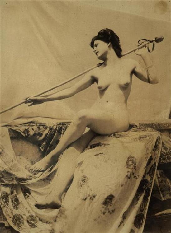 Vincenzo Galdi  (1871-1961). Nu féminin. Via rmn