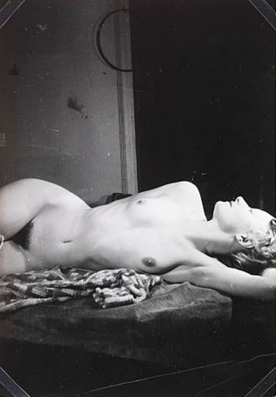 Wols. Germaine lying down 1938. Via theredlist