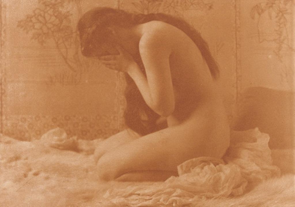 Charles Berg. Weeping Magdalen 1900. Via moma