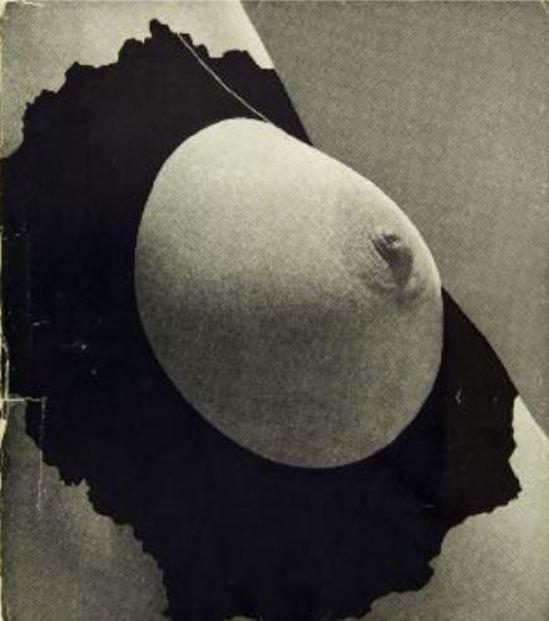 Couverture pour l'Exposition Internationale du Surréalisme présentée par André Breton et Marcel Duchamp 1947. Via bibliorare