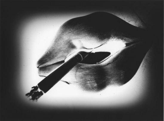 Daïdo Moriyama. Lips. Via artsy