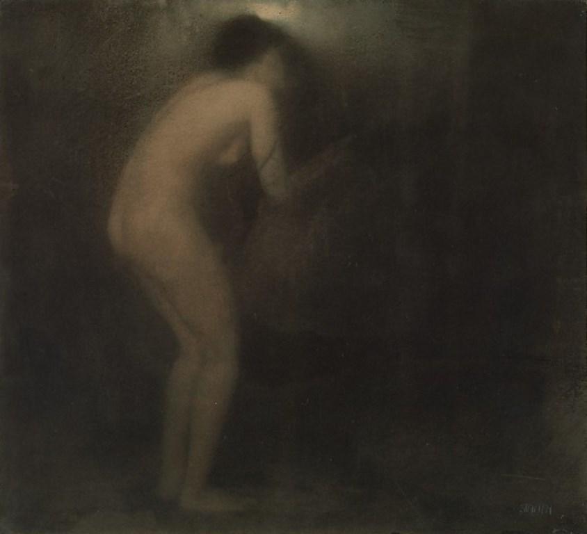 Edward Steichen.  La cigale 1901. Via metmuseum