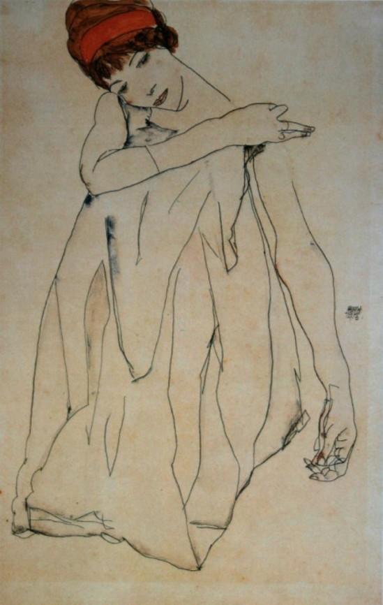 Egon Schiele. La danseuse 1913