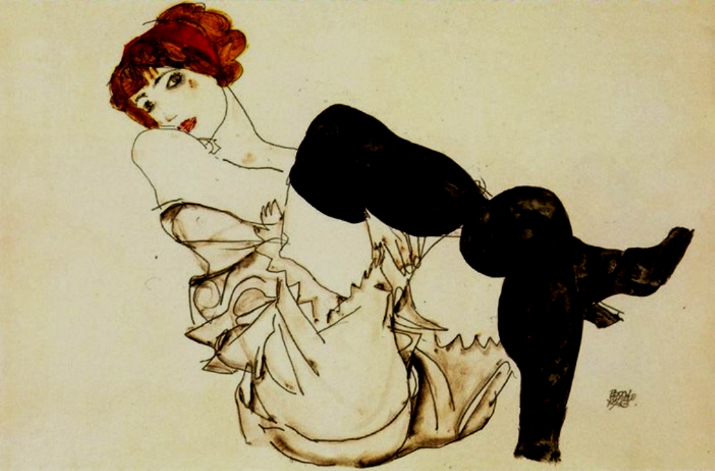 Egon Schiele. Wally Neuzil 1913