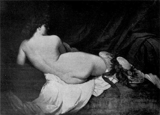 Gabriel von Max. Faustina