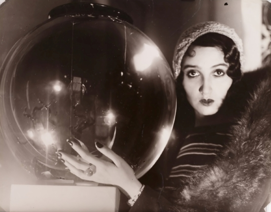 Jacques-Henri Lartigue. The crystal Ball 1931. Via theredlist